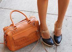 @Rebecca Minkoff MAB + @Loeffler Randall Neel pumps. #fashion
