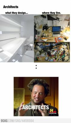 Just architects...