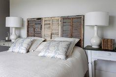 shutters in the bedroom