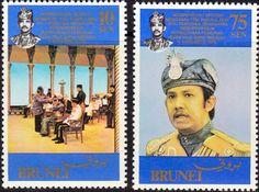 Brunei 1977 Royal Silver Jubilee SG 266 Fine Mint Scott 228  Other Stamps of Brunei HERE