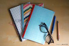 DIY | Patterned Notebook