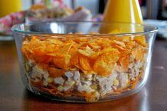 Sałatka na Sylwestra - TOP 10 Najlepszych Przepisów na Sylwestrowy Wieczór Nachos, Macaroni And Cheese, Oatmeal, Food And Drink, Menu, Pudding, Dishes, Cooking, Breakfast