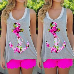 Fashion Womens Summer Vest Top Sleeveless Blouse Casual Tank Tops T-Shirt #Unbranded #Blouse #Casual