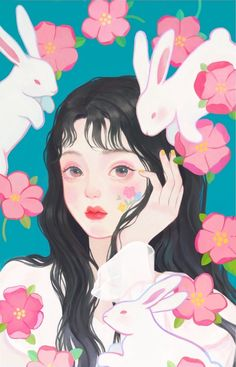 Aesthetic Art, Aesthetic Anime, Aesthetic Clothes, Animes Yandere, Cute Art Styles, Kawaii Art, Anime Art Girl, Cartoon Art, Cute Drawings