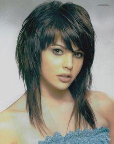 Cortes de cabello capas grafiladas