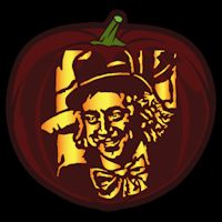 Willy Wonka CO - Stoneykins Pumpkin Carving Patterns and Stencils