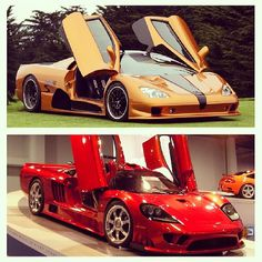 SSC Aero vs. Saleen S7 Twin Turbo...Which one do you prefer?