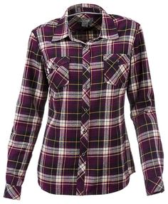 Natural Reflections Flannel Shirt for Ladies | Bass Pro Shops: The Best Hunting, Fishing, Camping & Outdoor Gear