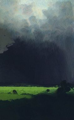 After a Thunderstorm, 1879, Arkhip Kuindzhi.