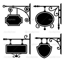 Buy Set of Retro Graphic Forged Signboards by In-Finity on GraphicRiver. Set of retro graphic forged signboards. Brass Lantern, Sign Board Design, Iron Decor, Hanging Signs, House Numbers, Home Signs, Geometric Designs, Planer, Interior Decorating