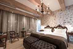Boutique Hotel Room, Curtains, Inspiration, Home Decor, Boutique Hotel Bedroom, Biblical Inspiration, Blinds, Decoration Home, Room Decor