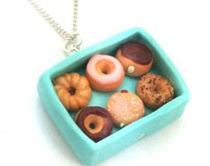Toast necklace by inediblejewelry on Etsy