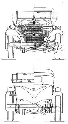 Packard 7-34 Speedster (1930) | SMCars.Net - Car Blueprints Forum