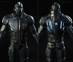 His Back is pretty cool. I think I really like the idea of having lights on the armor.  mas effect_concept