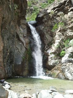 Eaton Canyon Waterfall #1