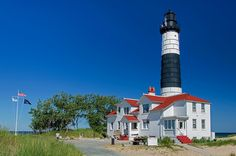 Big Sable Point Light and Keeper's House