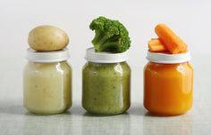 Comida orgánica para tu bebé