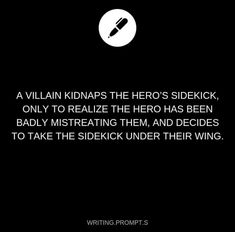 Plot twist: the hero was never kind