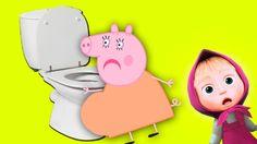 Свинка Пеппа Мультик Для Детей  Беременная мама пеппы рожает Мультики дл...