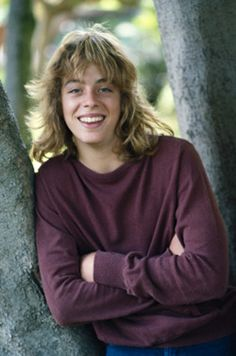 "Leif Garrett, my first love.............. I used to go mental when people pronounced his name ""leaf""."