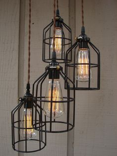 Upcycled 4 Light Industrial