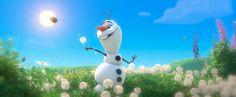 Frozen Olaf Melting Scene