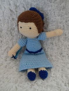 Ravelry: Wendy (Peter Pan) Inspired Doll pattern by Kristen McCrory
