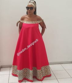 Long African Dresses, African Fashion Skirts, African Print Fashion, Sepedi Traditional Dresses, Xhosa, Curvy Girl Fashion, African Design, African Attire, Java