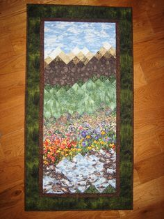 73 best mountain quilt ideas images on pinterest landscape quilts