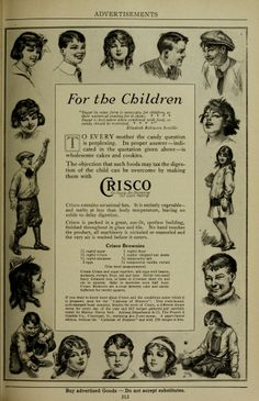 Crisco: For the Children