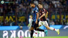 Hasil Pertandingan Serie A: Inter vs Milan - Bola World – Game Bola – Pertandingan Inter vs Milan yang berlangsung dini hari tadi (14/9/2015) di Giuseppe Meazza  berakhir dengan skor 1-0 atas kemenangan Inter Milan. Gol kemenangan Internazionale diciptakan oleh Guarin di menit ke 58′.