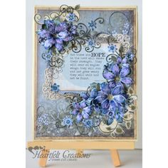 Gallery | Hope In The Lord Canvas - Heartfelt Creations