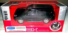 Toyota Land Cruiser Prado Landcruiser Black Welly Scale 1/39   For sale on Delcampe