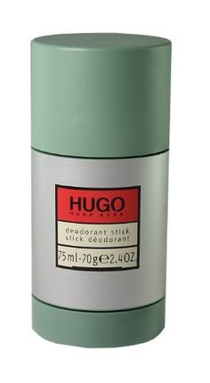 HUGO by Hugo Boss Deodorant Stick 2.4 oz 75 ml (70g) by Hugo Boss. $18.79. This item is not for sale in Catalina Island. Packaging for this product may vary from that shown in the image above. HUGO by Hugo Boss for Men DEODORANT STICK 2.4 OZ woods, fresh citrus and spicy leaves.When applying any fragrance please consider that there are several factors which can affect the natural smell of your skin and, in turn, the way a scent smells on you.  For instance, your mood, stre...