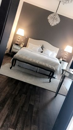 Nadire Atas on Master Bedroom Decor - - bedroom makeover Master Bedroom Design, Home Bedroom, Girls Bedroom, Bedroom Decor, Master Bedrooms, Modern Bedroom, Taupe Bedroom, Bedroom Ideas, Bedroom Retreat