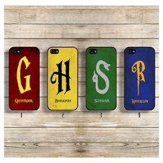 Harry potter iphone case Harry potter phone case Harry potter Hogwarts... ($9.99) ❤ liked on Polyvore