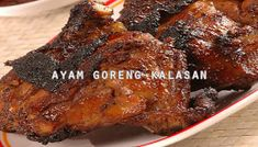 Resep Masakan Praktis Rumahan Indonesia Sederhana: Resep Ayam Goreng Kalasan