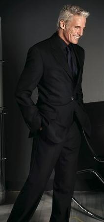 Men mature well dressed