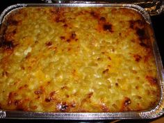 """""""The Best Macaroni & Cheese"""" link goes to yummy looking recipe. uses cheddar, velveeta and cottage cheeses. Awesome Mac And Cheese Recipe, Best Mac And Cheese Recipe Velveeta, Awesome Recipe, My Favorite Food, Favorite Recipes, Creamy Macaroni And Cheese, Mac Cheese Recipes, Food Wishes, Yummy Food"""