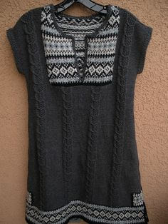 #04 Fair Isle Tunic Stomp  by Jean Moss