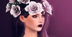 ErSch Sims: Amnezia Crown of Roses by Ersel
