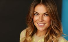 Download wallpapers Serinda Swan, beauty, Hollywood, smile, canadian actress, blonde