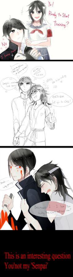 The girl cried for you[budo-chan x yandere-kun] by KOUMI04