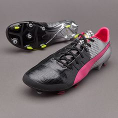 b9bd3354de6 Limited Edition Puma evoPOWER 1.3 2016 C.P FG Football Boots with Silver  Metallic