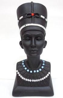 Ateliê Le Mimo: ORIENTAIS  Nefertit - peça em gesso