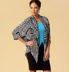 Butterick 6065 Misses' Jacket, Top, Dress, Skirt and Pants