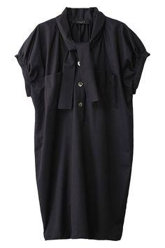 SACRA  ビンテージサテンシャツドレス