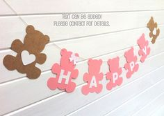 Baby shower by MyPaperPlanet Teddy Bear Garland. Baby shower by MyPaperPlanet Baby Showers, Deco Baby Shower, Fiesta Baby Shower, Baby Shower Balloons, Teddy Bear Party, Teddy Bear Birthday, Teddy Bear Cakes, Teddy Bear Baby Shower, Picnic Birthday