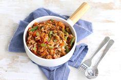Op zoek naar een lekker, simpel en snel recept? Wat dacht je van deze rijstschotel met bonen en gehakt? Super lekker en heel erg simpel!
