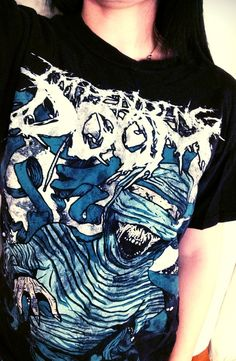 25b95617 Impending Doom -band- shirt! I love this band and I really want it